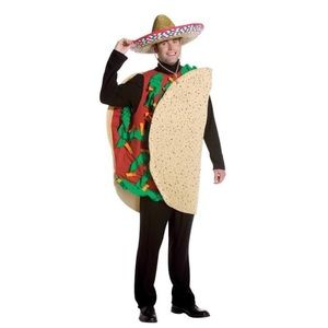 Other - Halloween taco costume polyester
